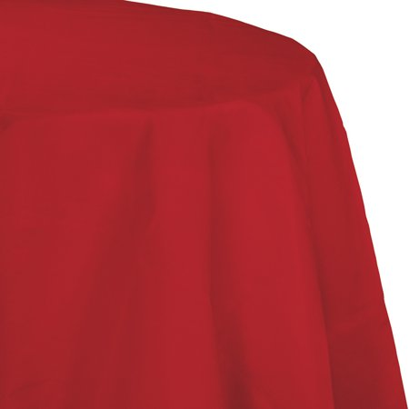 Classic Red Octy Round Tablecloth, each