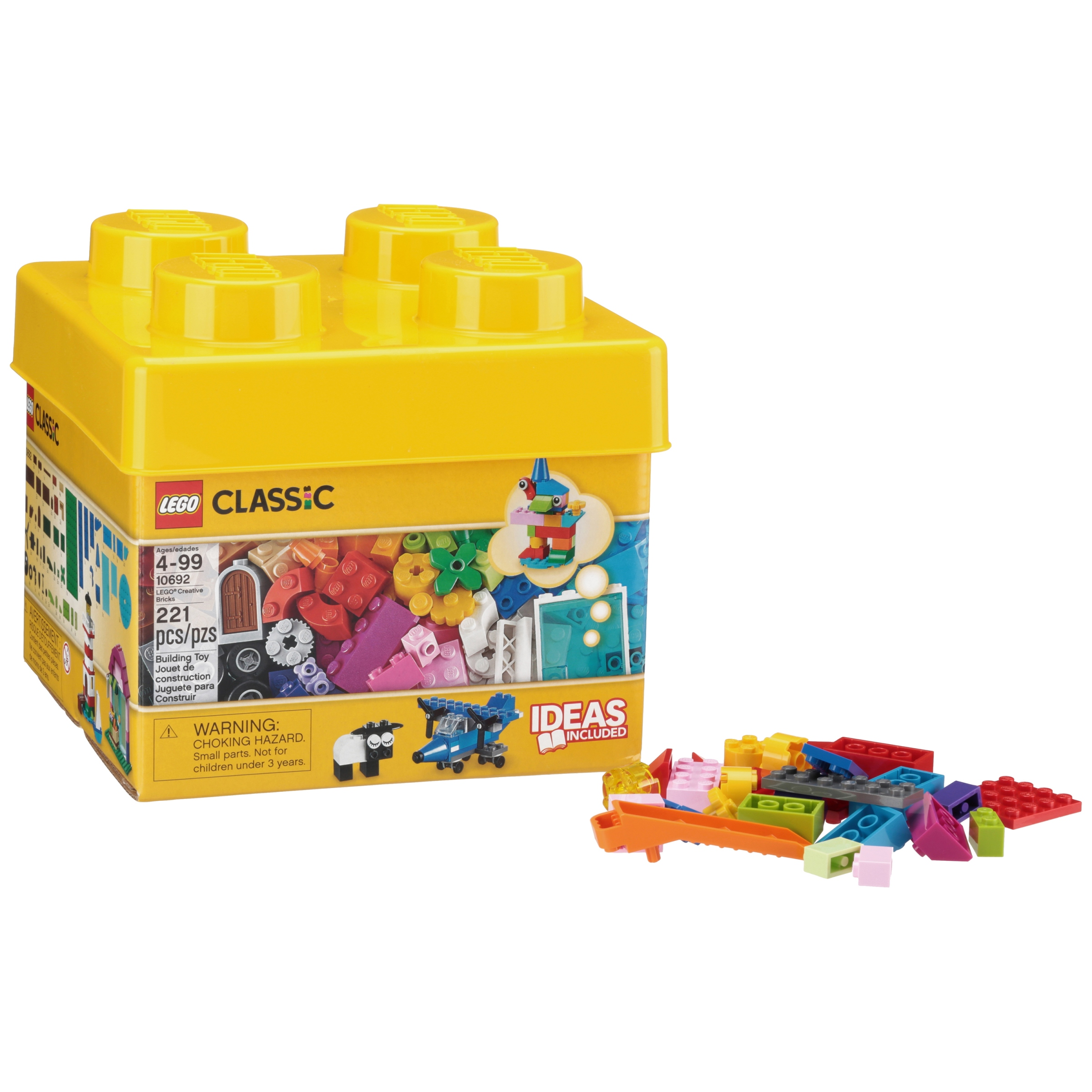 Lego® Classic Creative Bricks 221 pc Box - Walmart.com