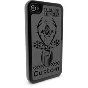 Apple iPhone 4 and 4S 3D Printed Custom Phone Case - Disney Frozen - Olaf
