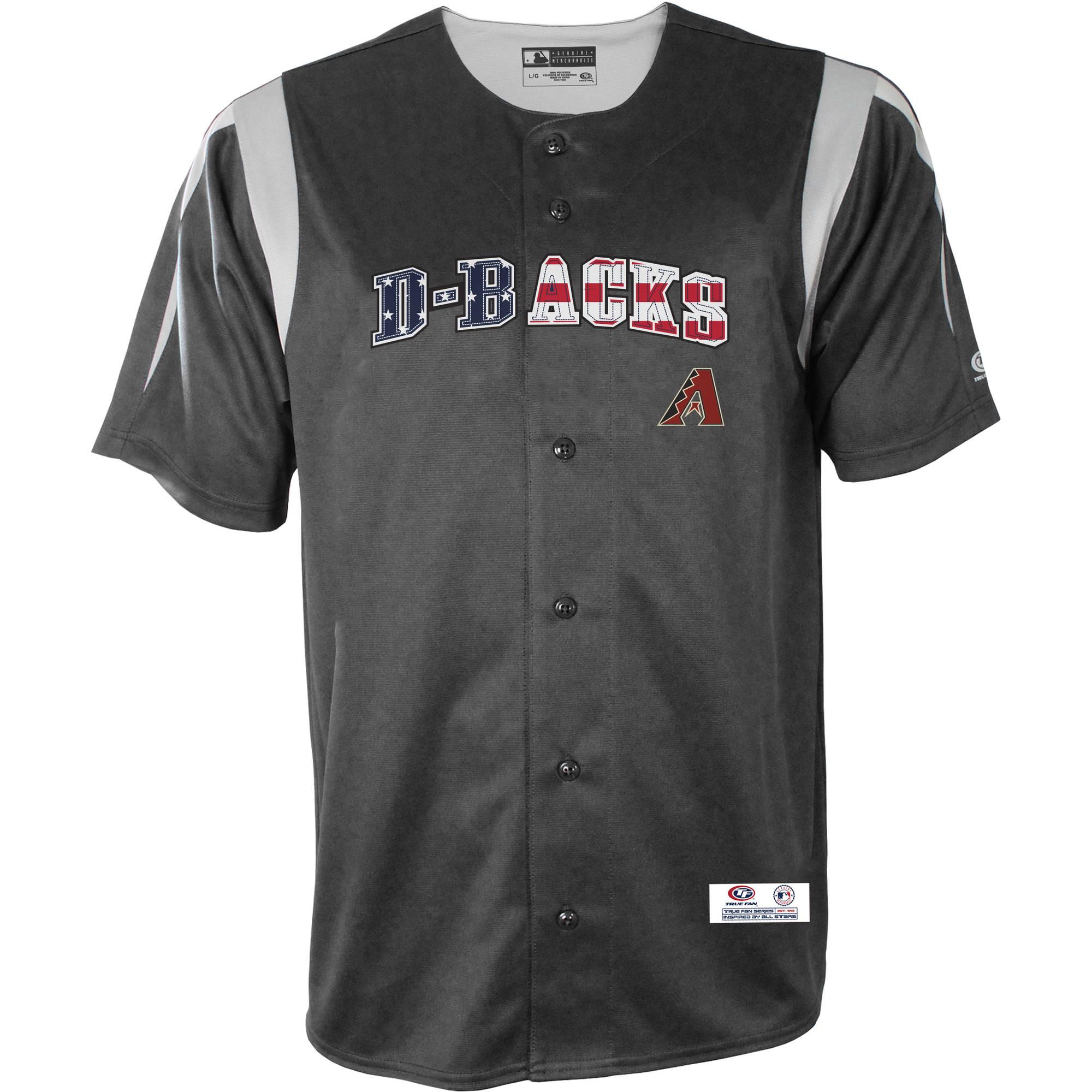 MLB Arizona Diamondbacks Men's Americana Button Down Jersey