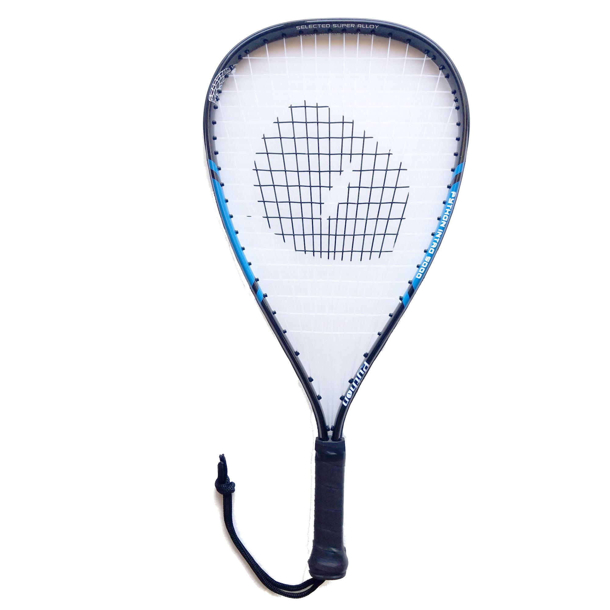Python Intro 5000 Blue Racquetball Racquet (Beginner Racket)