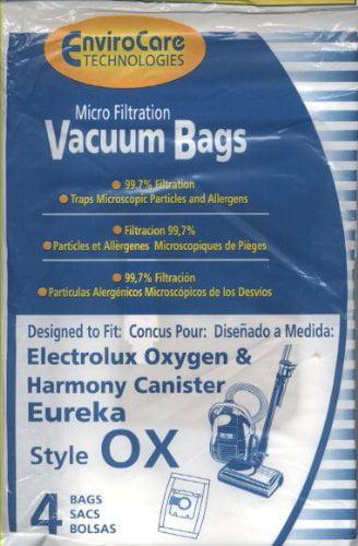 Fits 61320 EL200 4 Pk Electrolux OX Vacuum Bags