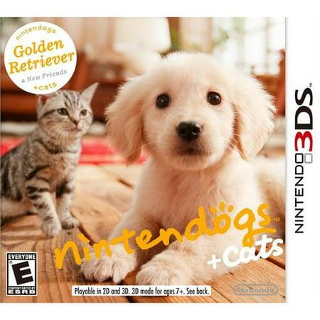 Nintendogs + Cats: Golden Retriever (Nintendo 3DS)