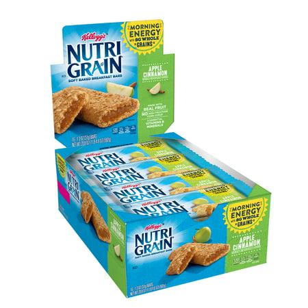 Kellogg's Nutri-Grain Soft Baked Apple Cinnamon Breakfast Bars, 1.3 Oz., 16 - Baked Apple Crumble
