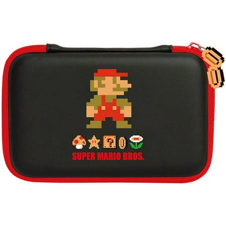 Hori 3Ds Xl Retro Super Mario Bros  Hard Pouch  Nintendo 3Ds Dsi