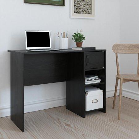 Tally Computer Desk Black Oak