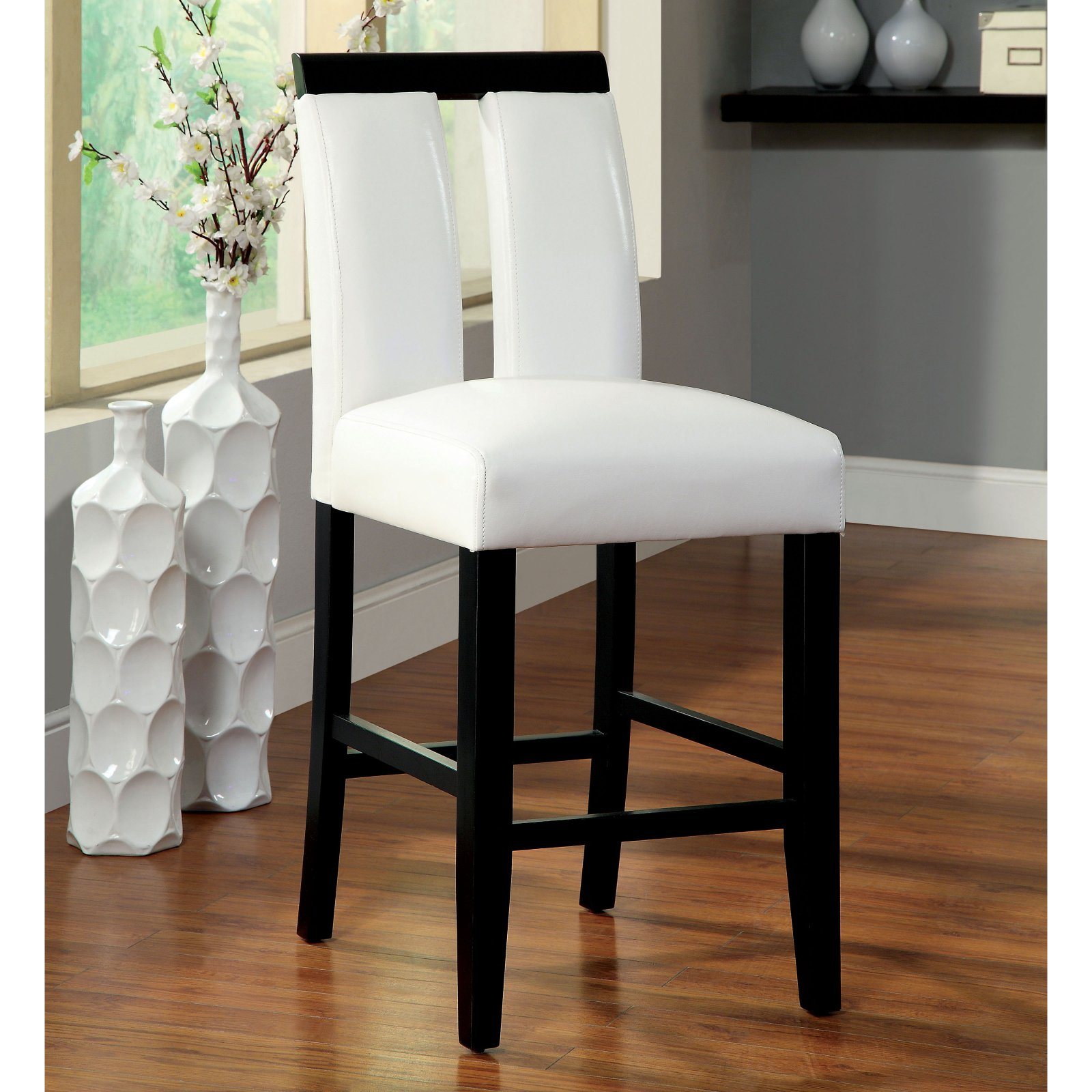 Etonnant Furniture Of America Luminate Contemporary Counter Height Chairs   Set Of 2