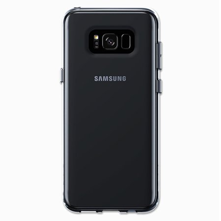 Samsung Galaxy S8 Plus Case - Qmadix C Series with Dual Layer TPU and Polycarbonate Protection - Clear and Ultra Thin For Style and Comfort (Smoke) Qmadix Usb Dual Mobile