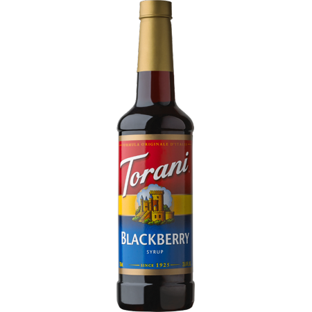 Torani Blackberry Syrup 750ml ()