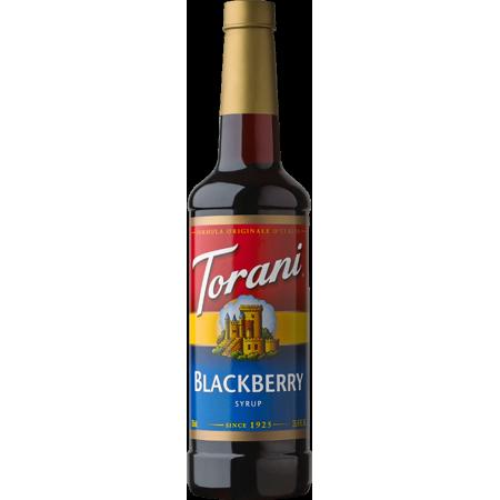 Torani Blackberry Syrup 750ml - Torani Maple Syrup