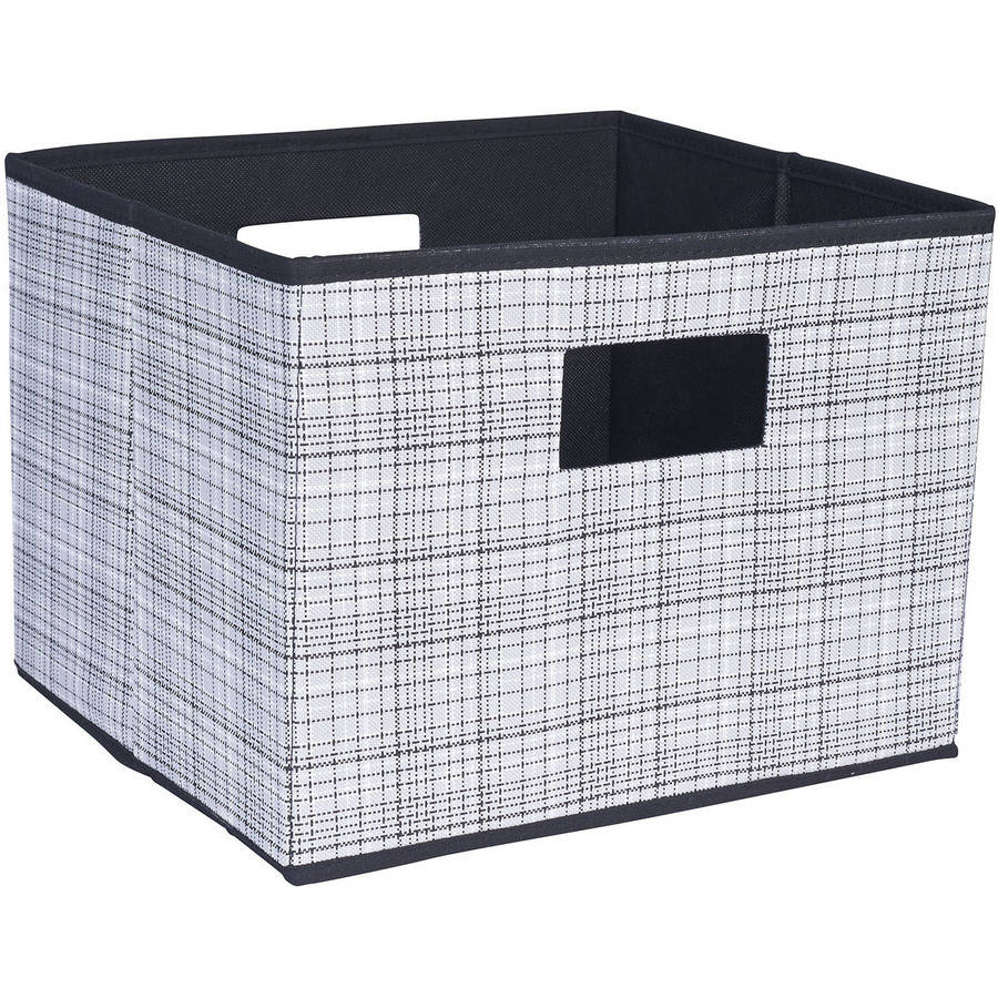 Household Essentials Open Storage Bin with Cutout Handles