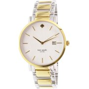 Kate Spade New York Women's Gramercy Grand 1YRU0108 Gold Stainless-Steel Quartz Watch
