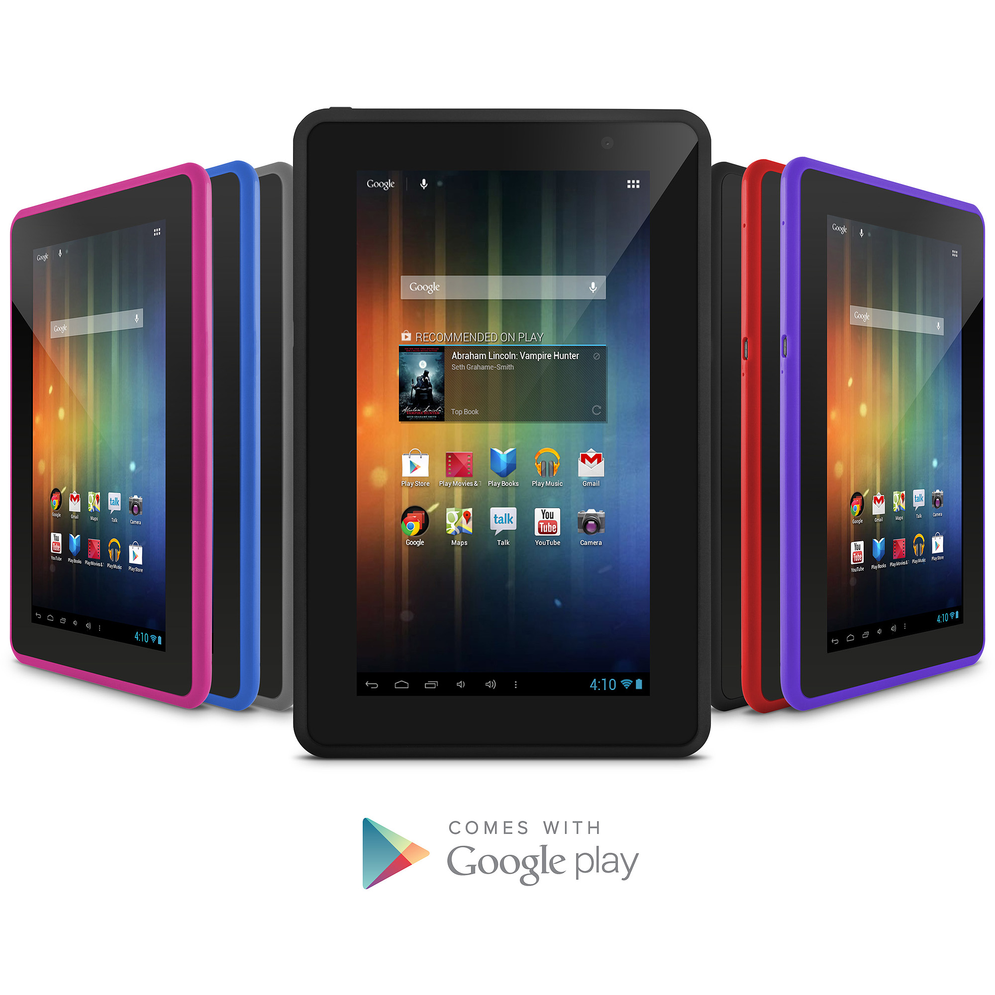 "Ematic 7"" Tablet with 4GB Memory and Google Mobile Services"