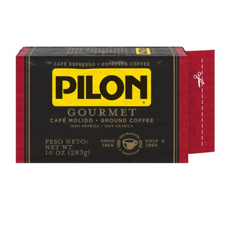 Pilon Espresso, 100% Arabica Coffee, 10-Ounce Brick
