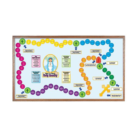 Fun Express - The Holy Rosary Bb Set - Educational - Classroom Decorations - Bulletin Board Decor - 1 Piece](Decorating Classroom)