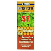 Rompe Pecho Sugar Free Cough Syrup 6 oz (Pack of 2)