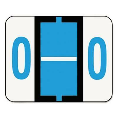 Smead A-Z Color-Coded End Tab Labels, letter O, Blue, 500/Roll (Smead Letter A Labels)