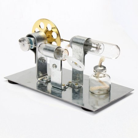 Canadian Pacific Steam Engine - Mini Hot Air Stirling Engine Motor Model Science Educational Steam Power Toy
