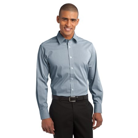 Port Authority Fine Stripe Stretch Poplin Shirt S647
