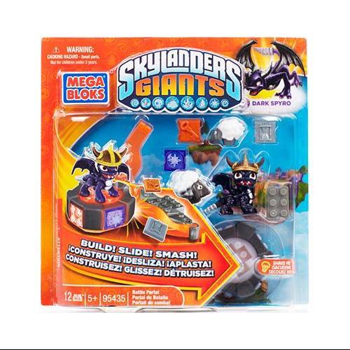 Skylanders Giants Dark Spyro's Battle Portal Set Mega Bloks 95435 by Mega Bloks