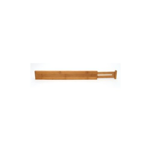 Lipper Bamboo Custom Fit Drawer Dividers - Set of 2 - 17.375D in.