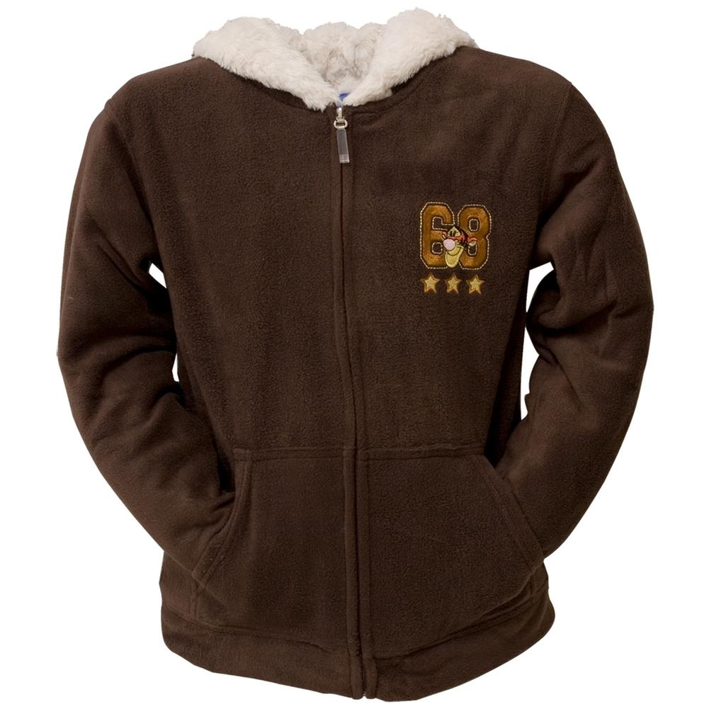 Winnie the Pooh Tigger Original Shield Juniors Zip Hoodie