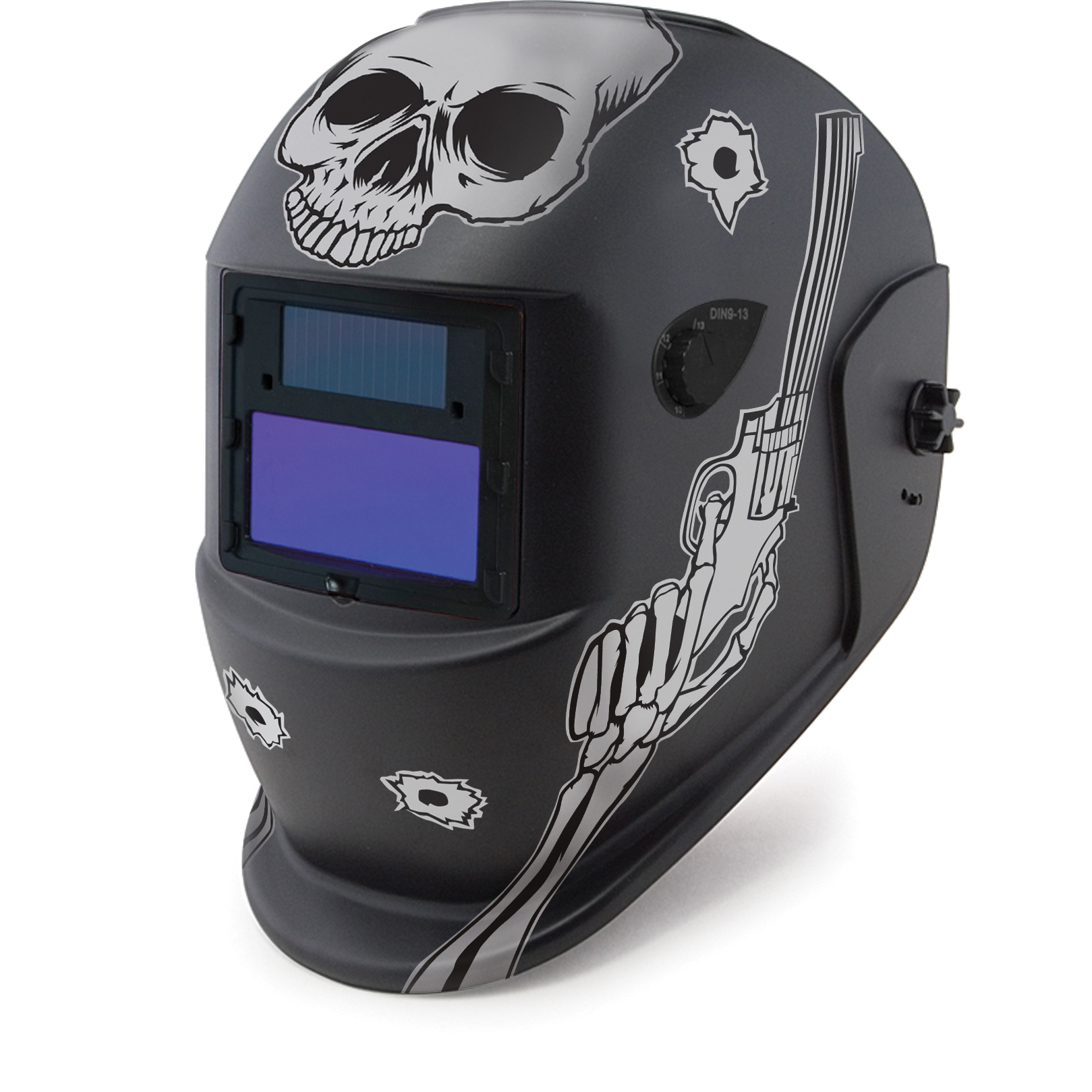 iMeshbean PP Material Solar Auto Darkening Welding Helmet MIG TIG ARC Professional Mask,Gun
