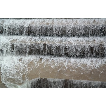 Canvas Print Water Lechfall Weir F??ssen Waterfall River Stretched Canvas 10 x 14