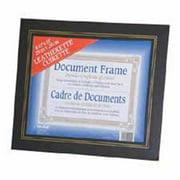 Nudell Plastics NUD21201 Leatherette Frame- Plastic Face- 8-. 50inchx11inch- Blue