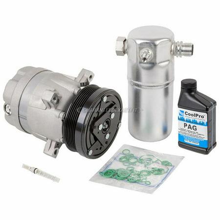 AC Compressor w/ A/C Repair Kit For Chevy S10 GMC Sonoma Isuzu Hombre