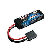 25C 7.4V 2200mAh Lipo Battery , w/TRA ID Multi-Colored