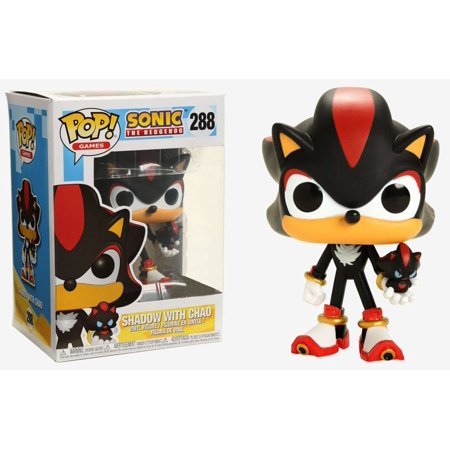 Sonic The Hedgehog Funko Pop  Games Shadow With Chao Vinyl Figure