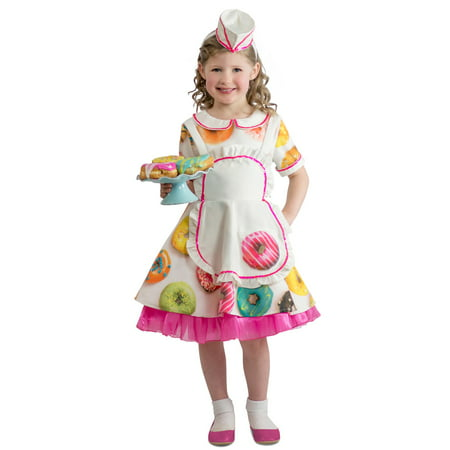 Donut Waitress Infant Costume - Waitress Costumes