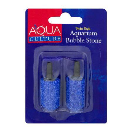 (2 Pack) Aqua Culture Bubble (Aqua Colored Stone)