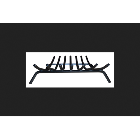 Lynx Painted Steel Fireplace Grate Indoor and