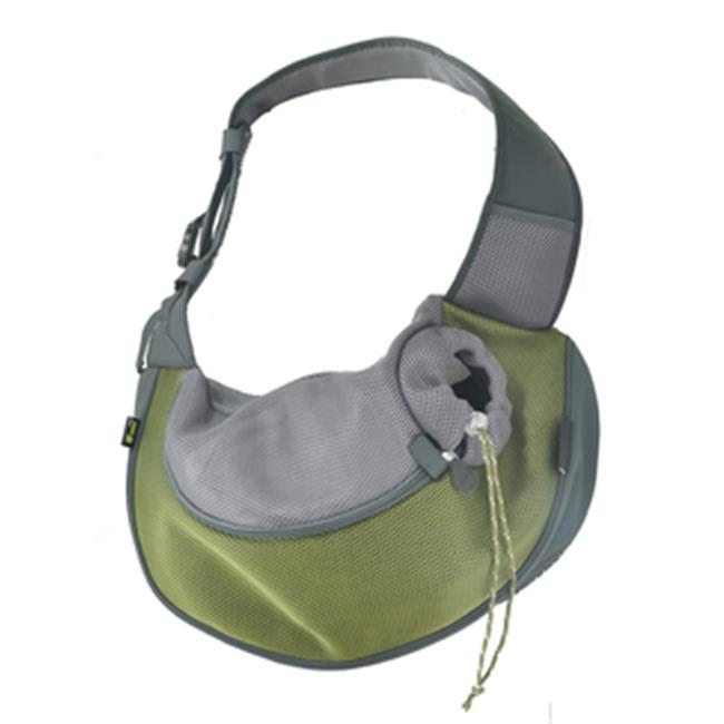 Wacky Paws WPC024-OL Pet Sling Carrier, Olive, Large