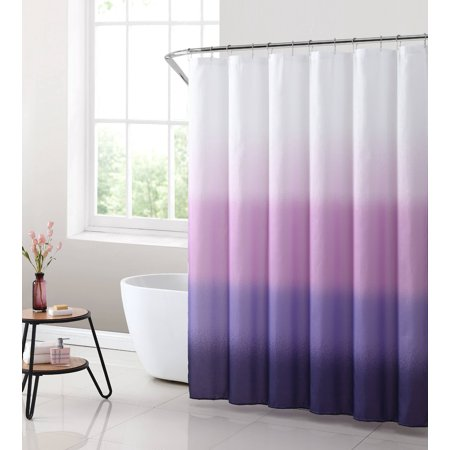 Mainstays Purple Ombre Fabric Shower Curtain 1 Each