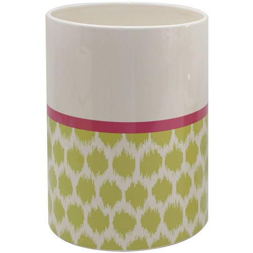 Waverly Optic Delight Collection Waste Basket