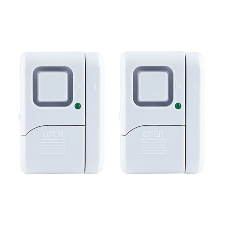 Pool Security Alarms (GE Personal Security Window/Door Alarm, 2-Pack, Battery Operated, 45115 )