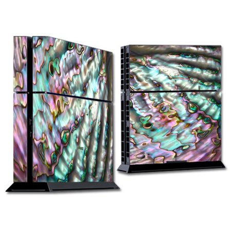 Skin Decal For Ps4 Playstation 4 Console / Abalone Pink Green Purple Sea -