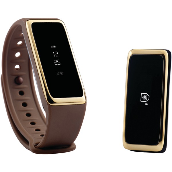 My Kronoz 813761020480 ZeFit2 Activity Tracker (Brown/Gold)