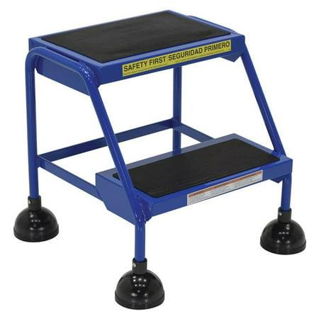 VESTIL LAD-2-B Commercial Spring Loaded Rolling Ladder