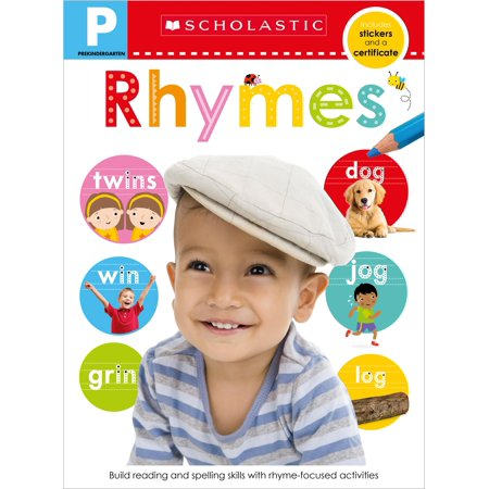 Pre-K Skills Workbook: Rhymes (Scholastic Early Learners)](Pre-k Halloween Art Activities)