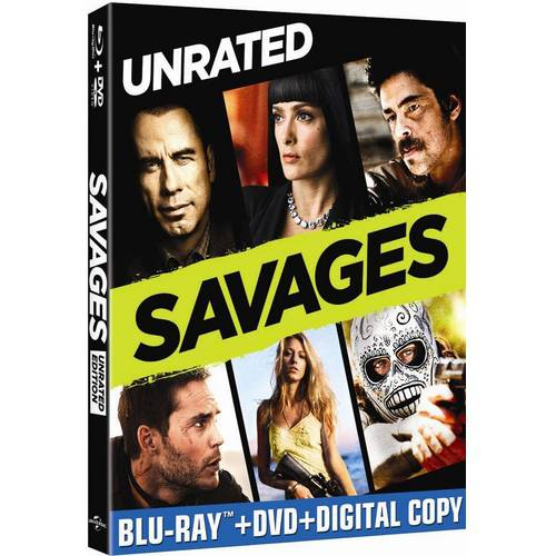 Savages (Blu-ray + DVD + Digital Copy) (With INSTAWATCH)