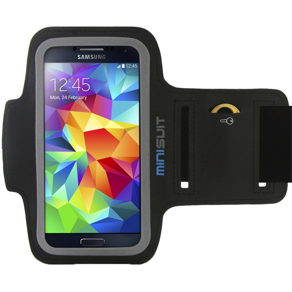 Minisuit SPORTY Armband + Pocket for Samsung Galaxy S6 Edge S5 S4 S3 Active