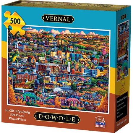 Vernal 500 Piece Puzzle - image 1 de 1