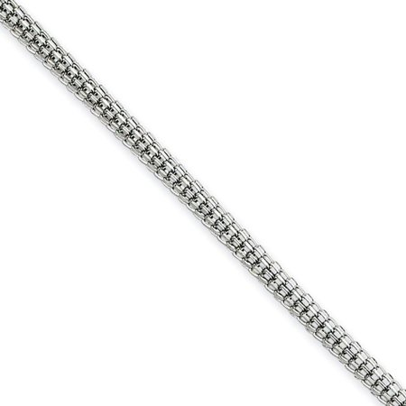 - Chisel Stainless Steel 2.5mm Polished Bismark Chain Necklace 30