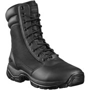 Interceptor Men's Kentin Zippered Tactical Work Boots, Black