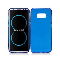 Samsung Galaxy S8 PLUS Frosted TPU CANDY Gel Flexi Skin Cover +Screen Guard