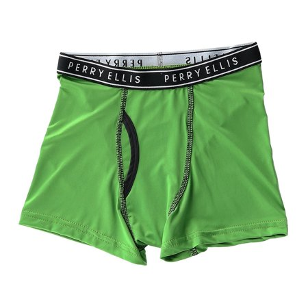 Perry Ellis Boy S Micro Fiber Tech Boxer Briefs 4 Pair Pack